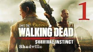 Walking Dead: Survival Instinct Прохождение #1: Дэрил Диксон
