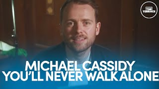 Michael Cassidy Performs Celtic's You'll Never Walk Alone | A View From The Terrace