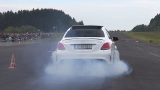 2016 Mercedes-AMG C63 S Edition 1 BURNOUT!!