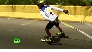 Лыжник из Венесуэлы мечтает о российском снеге