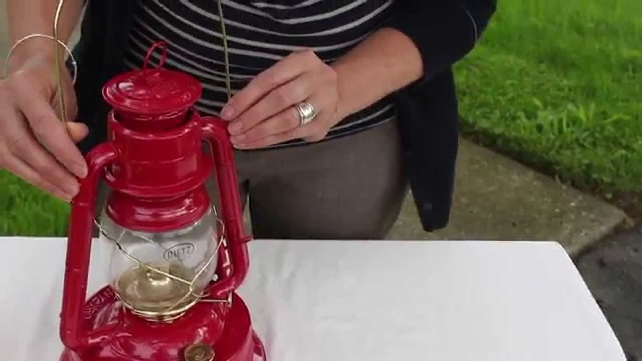 How To Use An Oil Lantern Youtube
