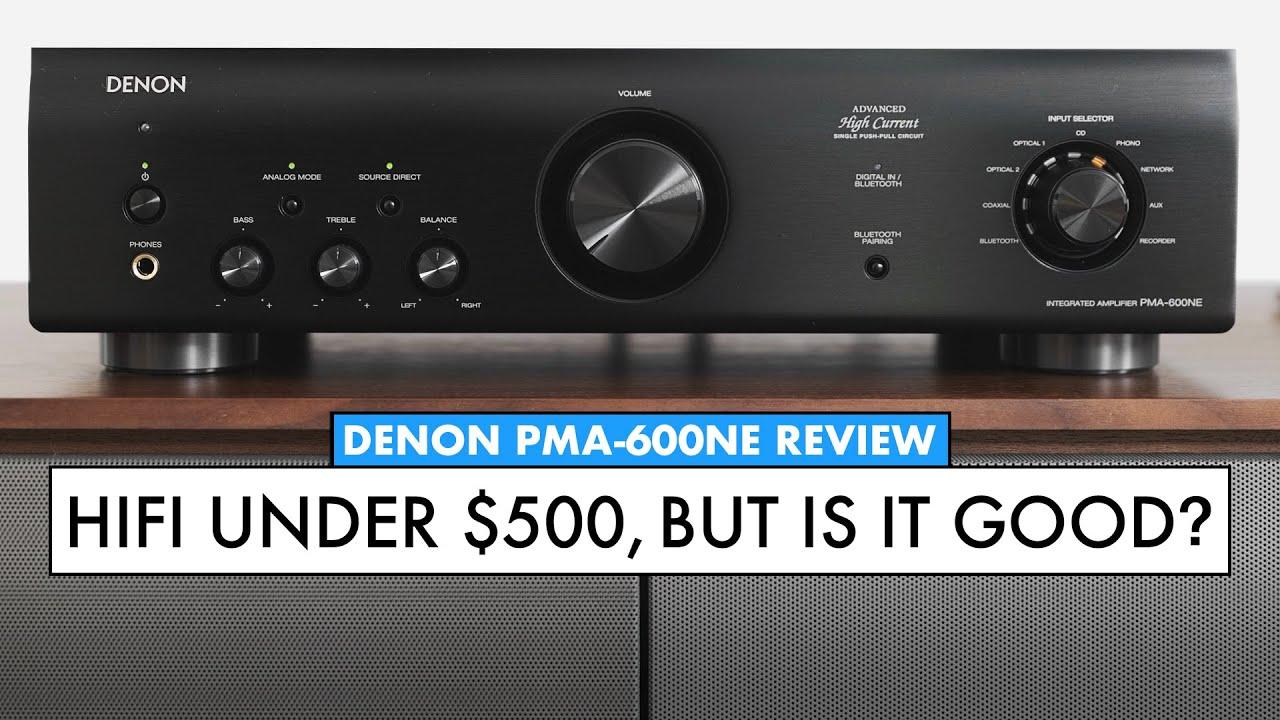 Denon's BUDGET AMPLIFIER with BLUETOOTH! - DENON PMA-600NE Amp Review!