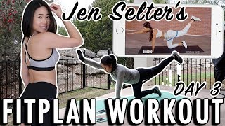A Review of Jen Selter Workout Plan on the Fitplan App- Day 3 | Weight Loss & Fitness