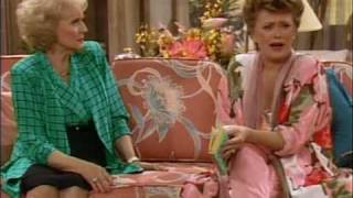 "The Golden Girls - ""Can you believe that backstabbing slut?"""
