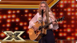 Originality wins the day for cat mum Charlotte Lily | Auditions Week 4 | The X Factor UK 2018