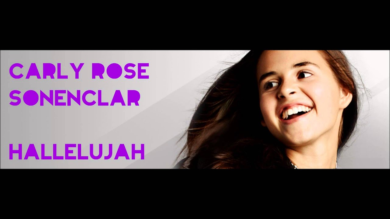 Carly Rose Sonenclar - Hallelujah (Winner's Single) - YouTube