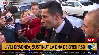 Claudiu Manda, la sediul DNA pentru a-l susține pe Liviu Dragnea
