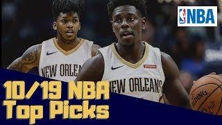 NBA DFS Top Picks DraftKings 10/19/18 Friday