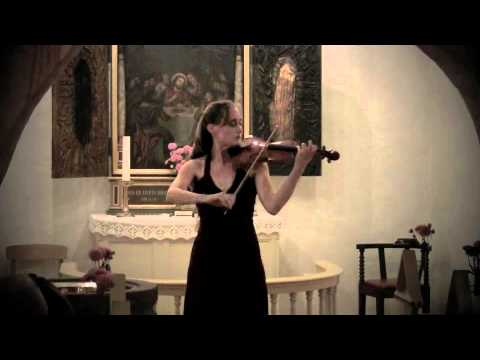 Bach: Partita #2 in D minor for Violin Solo - Claudia Schaer