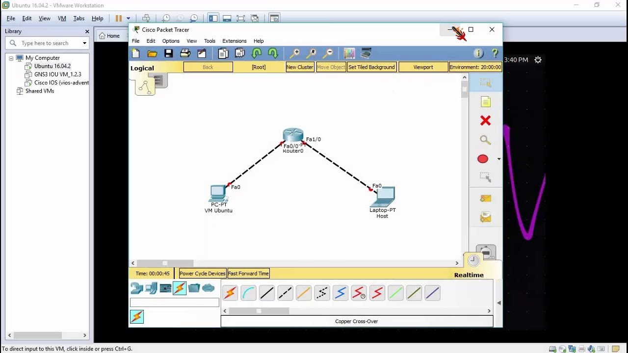 "How to Ping ""Ubuntu"" & ""Cisco IOS"" in VMWare + Host - YouTube Vmware Ping"