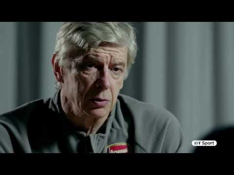 Arsene Wenger BT sport interview.
