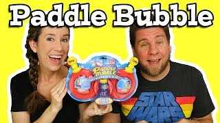 Paddle Bubble - National Bubble Week