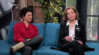 Alia Shawkat & Jessica Walter on Arrested Development, dentures, and nuclear war | London Live