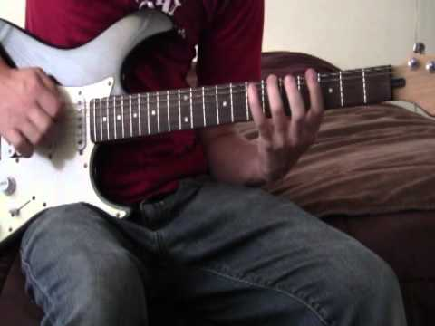 Hear Me Now by Hollywood Undead Guitar Cover Intro Tutorial