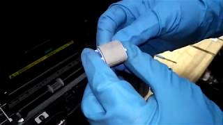 Інструкція заміна всіх роликів захоплення БФП HP LaserJet Pro M1536dnf