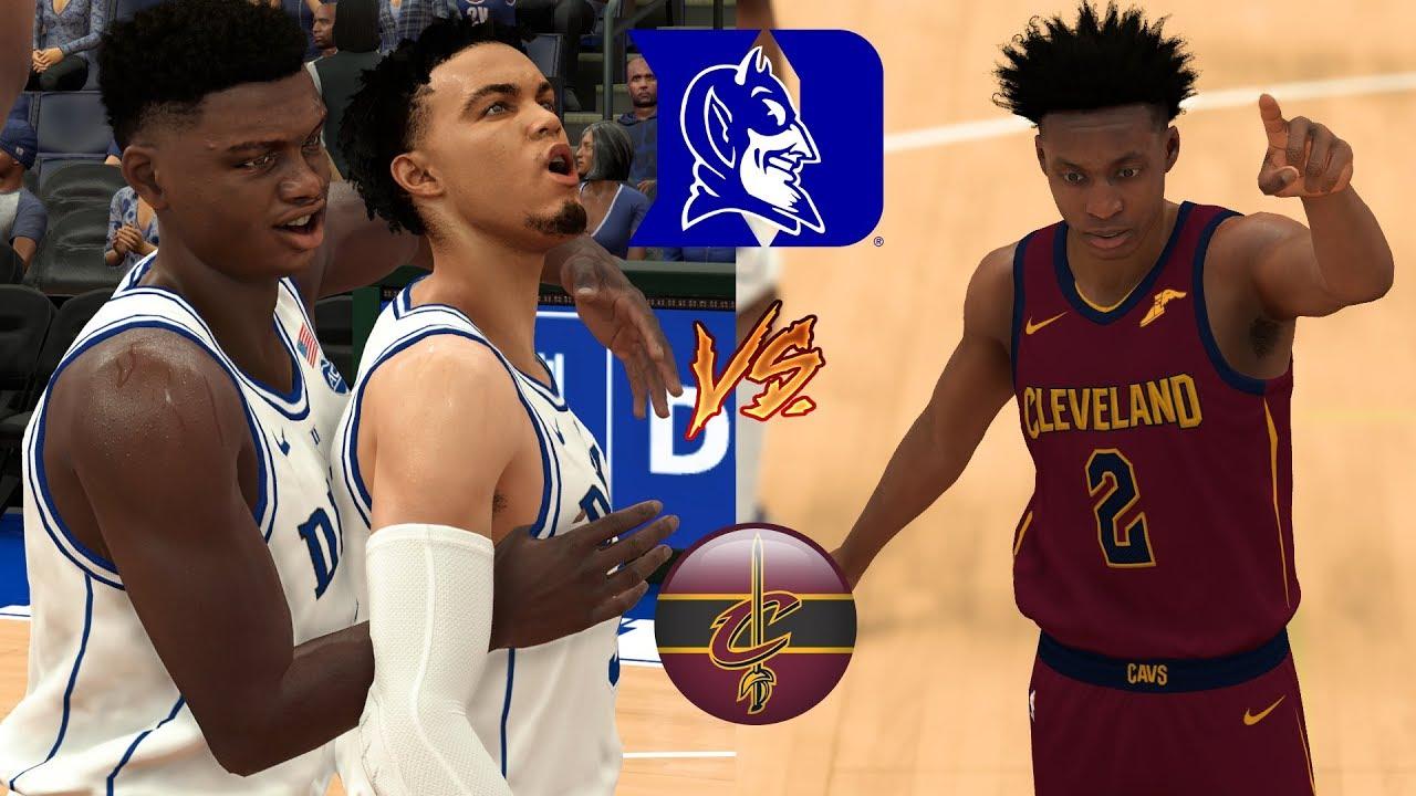 Cleveland Basketball Team >> Can The Duke Blue Devils Basketball Team Beat The Cleveland Cavaliers Nba 2k19 Ncaa Mod