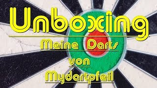 Unboxing - MyDartpfeil - Meine Darts sind da :)