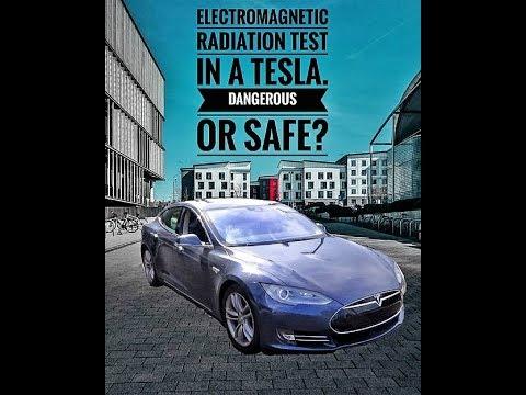 Electromagnetic Radiation Test In A Tesla Dangerous Or Safe