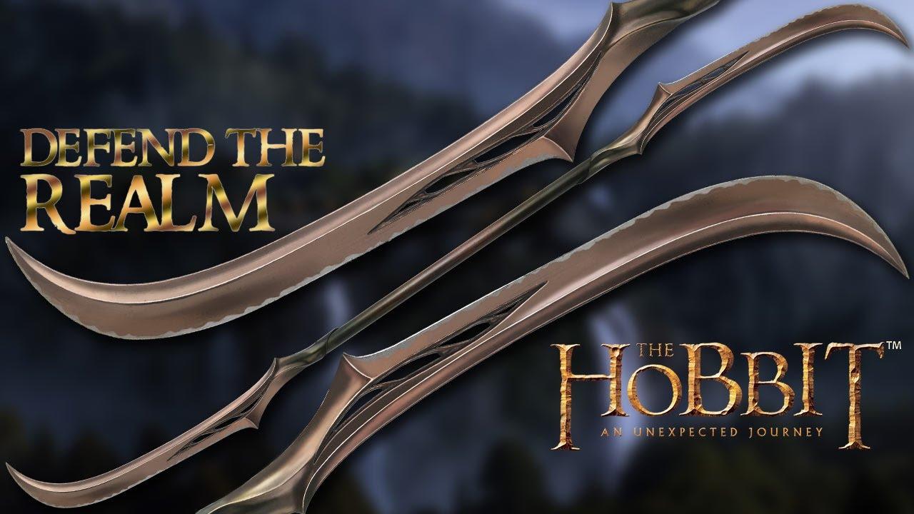 Hobbit Mirkwood Polearm Replica - United Cutlery   BUDK com - Knives