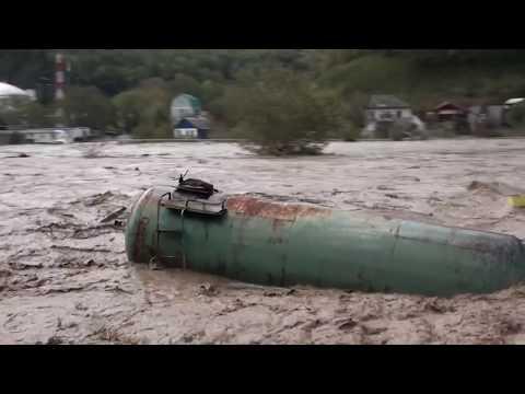 Наводнение на реке