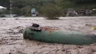 Наводнение на реке туапсе пос.Пригородный