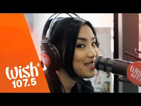 """Tala sings """"Nothing Personal"""" LIVE on Wish 107.5 Bus"""