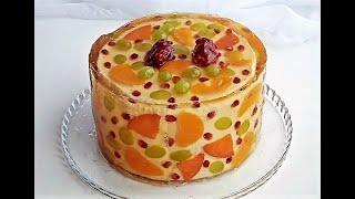 ТОРТ ЖЕЛЕ фруктовый ТРЕНД ГОДА Jelly Fruits Cake