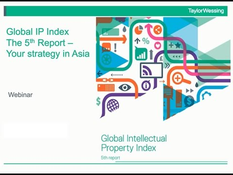 The Global IP Index – your IP strategy in Asia