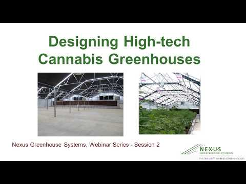 Designing High-tech Cannabis Greenhouses