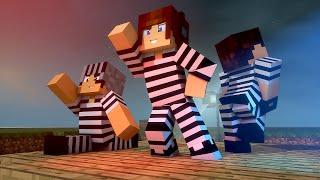 Policia e Ladrão - Danças Engraçadas !! - Minecraft