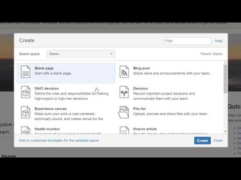 Jira Confluence Tutorial - How to link project to a space in Confluence