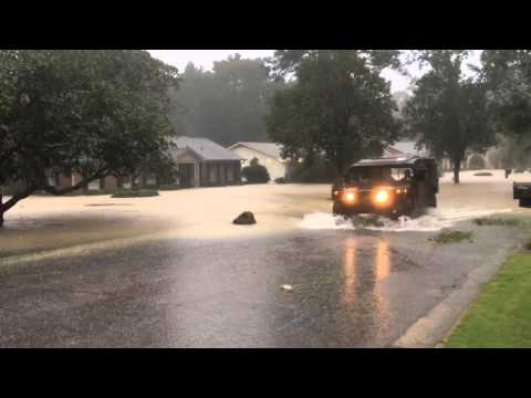 VIDEO: National Guard,DNR rescuing Forest Acres Residents