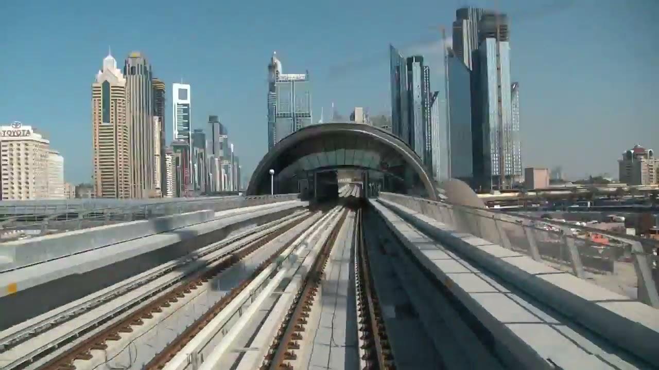 Dubai Metro Stations- Time Lapse - YouTube