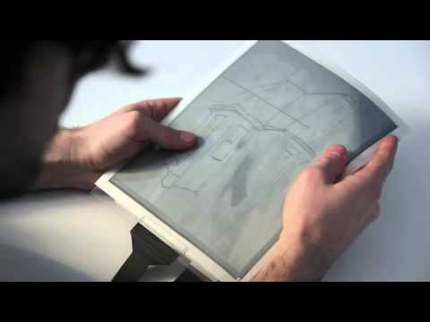 PaperTab Revolutionary paper tablet reveals future tablets to be thin and flexible as paper