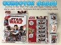 Journey to Star Wars The Last Jedi Topps trading cards starter pack,Tin, Multipack and card packs