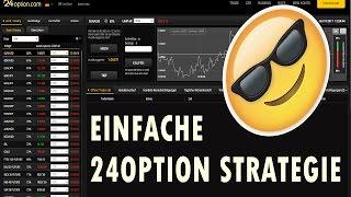 EINFACHE 24OPTION STRATEGIE auf Deutsch - Mit Glück schnell im Gewinn