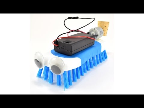 How to Build a Brushbot