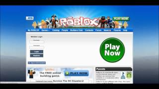 Roblox - Website Evolution (2005 - 2016)