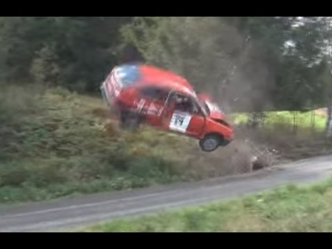 BEST OF RALLY 2012 / SWEDEN ( Crashes and more ) [HD - Pure Sound] by Broorallyfilm