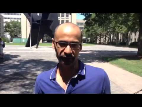 Junot Diaz shows his support