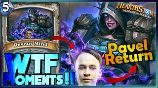 PAVEL RETURN | Hearthstone Frozen Throne WTF Moments