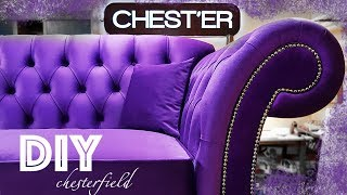 Изготовление Дивана Chesterfield Своими Руками Часть 1 Diy Making Your Own Chesterfield Sofa Part 1