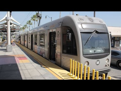 Metro Gold Line train ride from Atlantic to Union Station