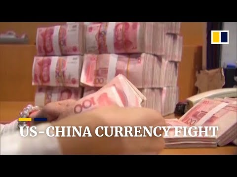 US labels China a currency manipulator as Beijing allows yuan to