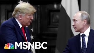White House Defends Trump Over Phone Call With Putin About The 'Russia Hoax' | The 11th Hour | MSNBC