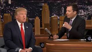 JIMMY FALLON TALKS ABOUT DONALD TRUMP IN HIS SHOW'S MONOLOGUE