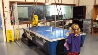 Ken Wells Nuvation Robot Air Hockey Bryan and Angi