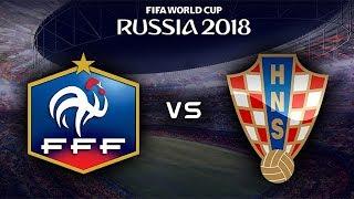 FIFA World Cup Final 2018 - France vs Croatia - 15/07/2018