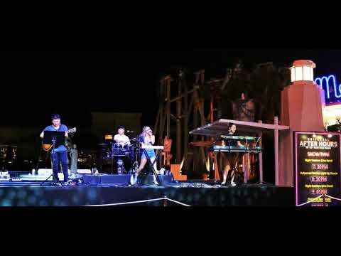 Live performances @ universal studio Singapore