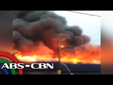 Bandila: Naiwang sinaing, tumupok umano sa bahay ng 150 pamilya sa Taguig